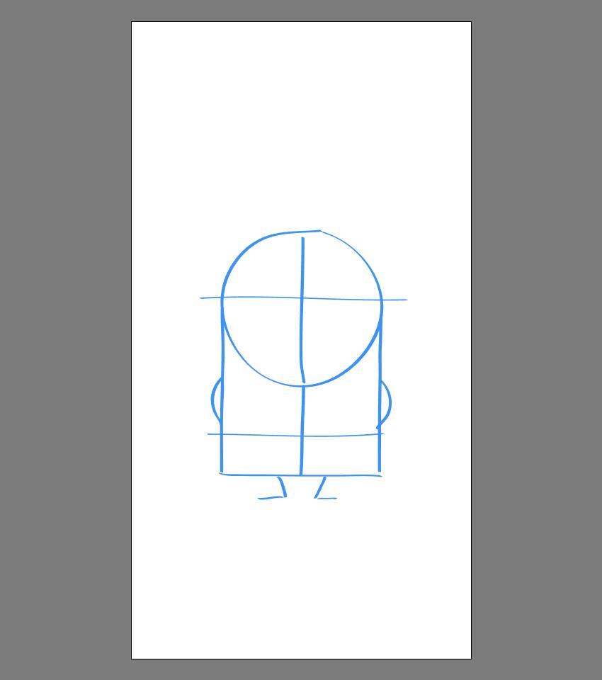 使用Adobe Illustrator绘制矢量小黄人教程 教程-第10张