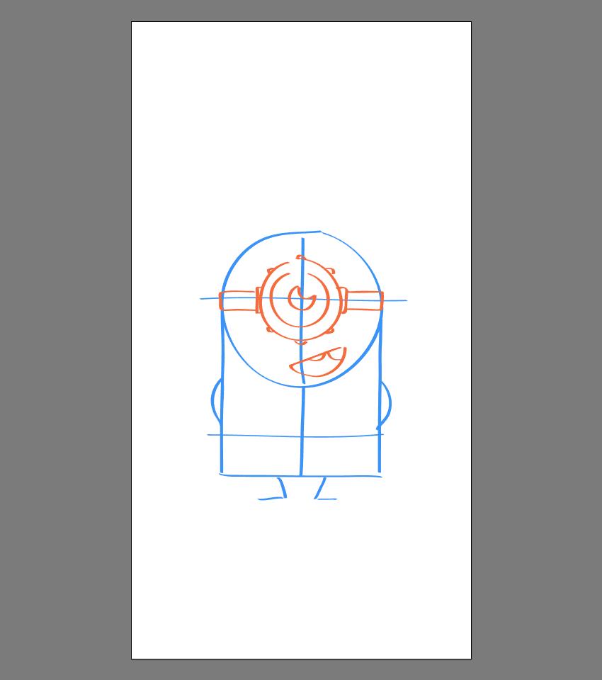 使用Adobe Illustrator绘制矢量小黄人教程 教程-第15张