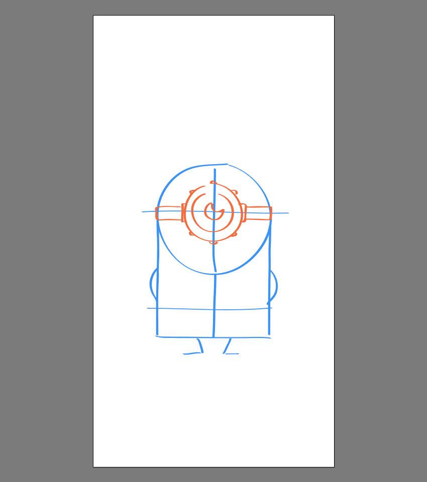 使用Adobe Illustrator绘制矢量小黄人教程 教程-第14张
