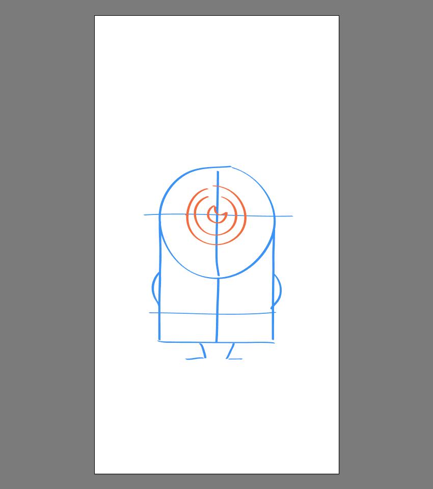 使用Adobe Illustrator绘制矢量小黄人教程 教程-第12张