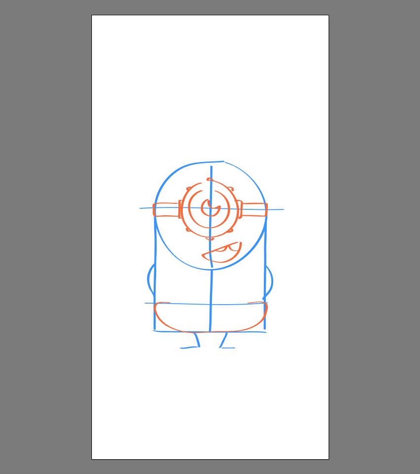 使用Adobe Illustrator绘制矢量小黄人教程 教程-第16张