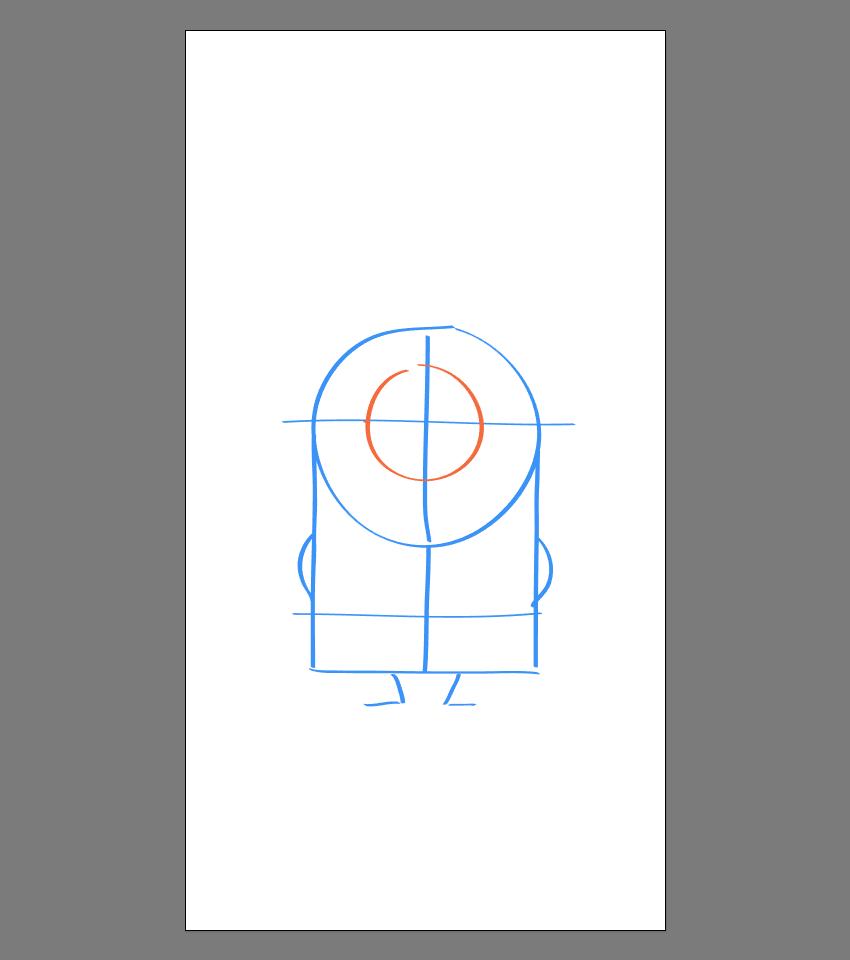 使用Adobe Illustrator绘制矢量小黄人教程 教程-第11张