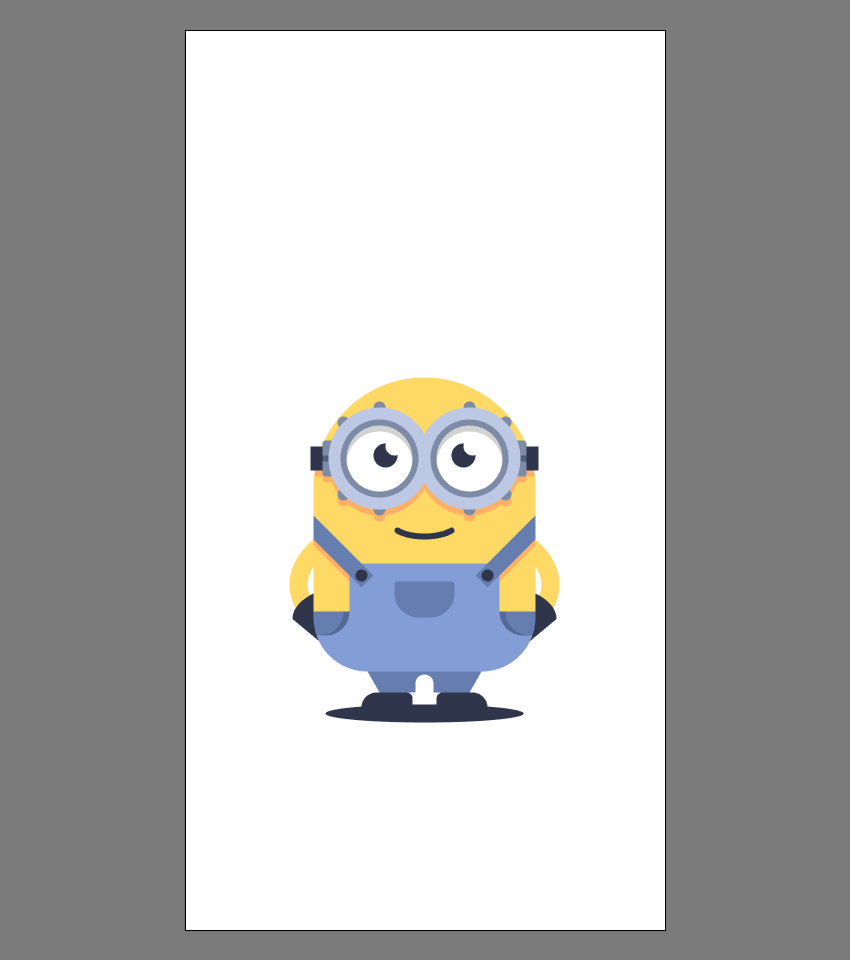 使用Adobe Illustrator绘制矢量小黄人教程 教程-第43张