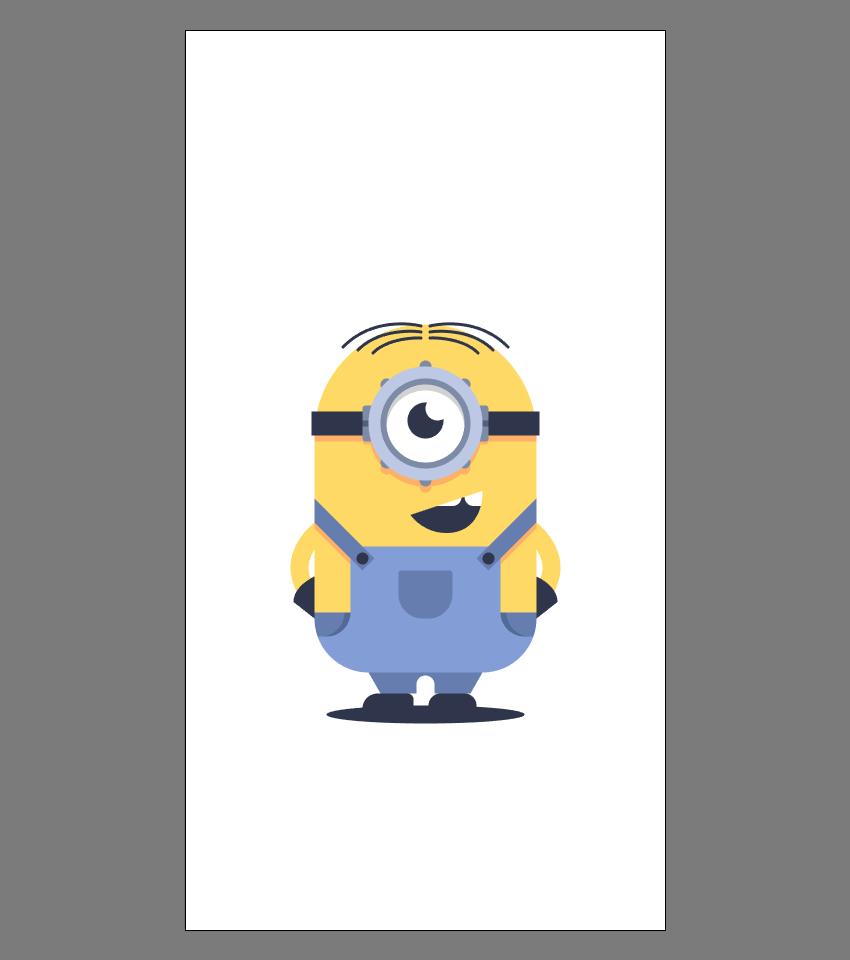 使用Adobe Illustrator绘制矢量小黄人教程 教程-第25张