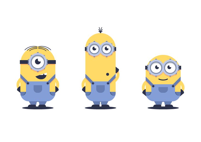 使用Adobe Illustrator绘制矢量小黄人教程 教程-第44张