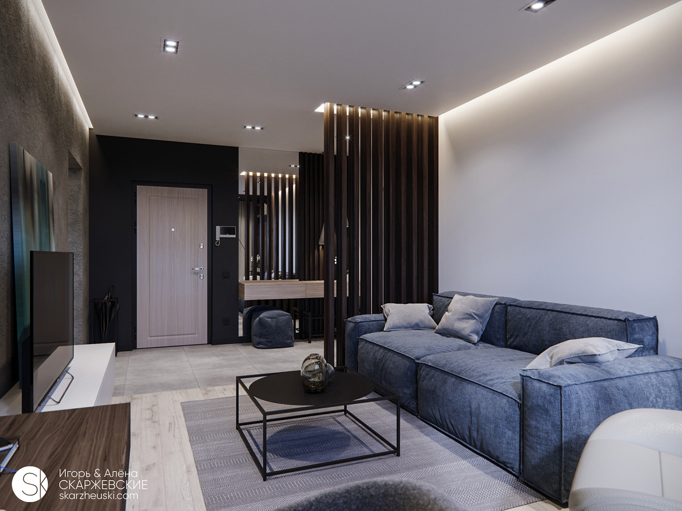 APARTMENT 61 极简主义室内设计 欣赏-第5张