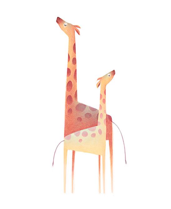 清新可爱动物艺术插画 欣赏-第11张