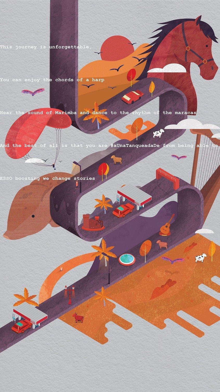 ESSO油站广告:难忘的旅程 欣赏-第4张