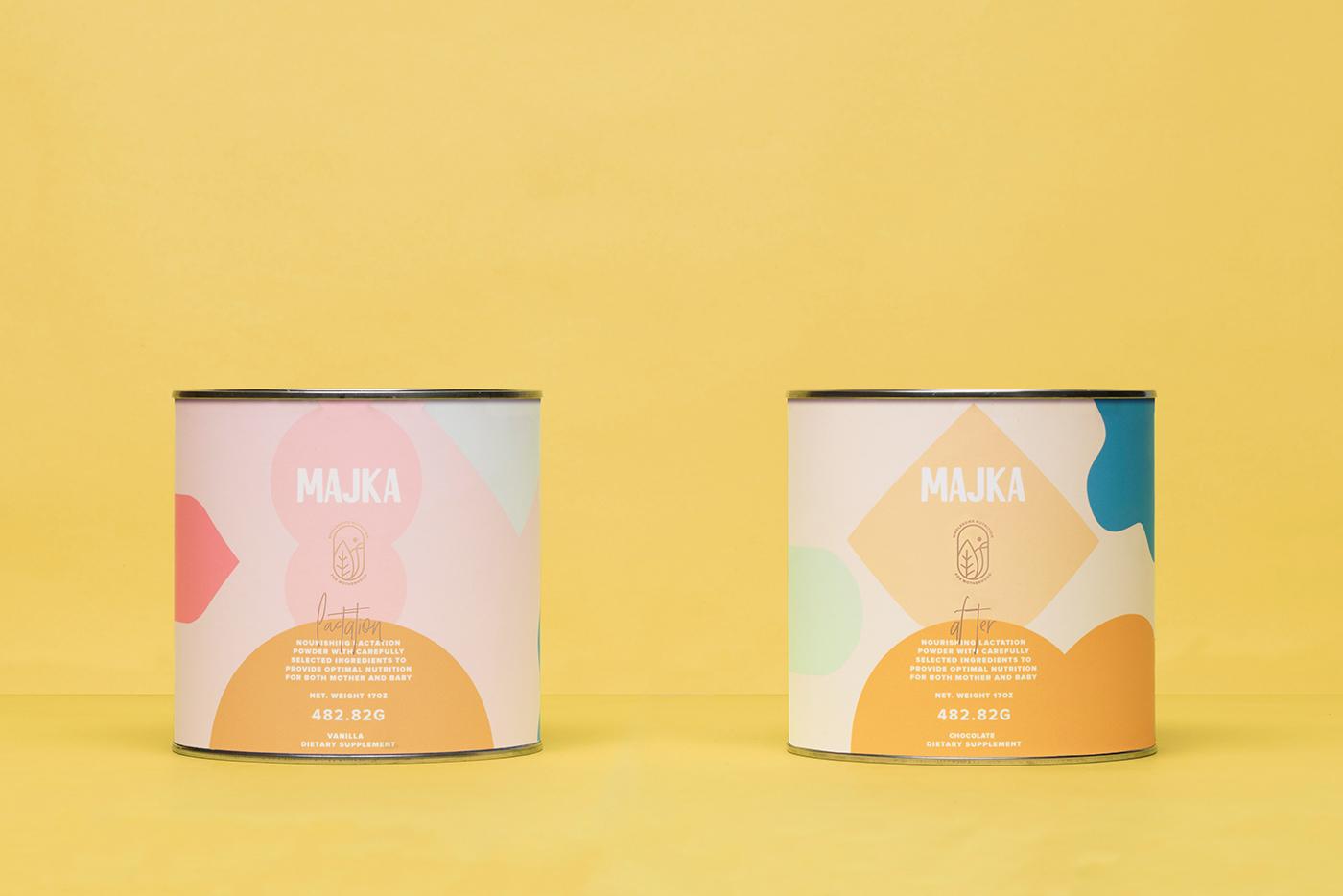 Majka 产品包装设计 欣赏-第2张