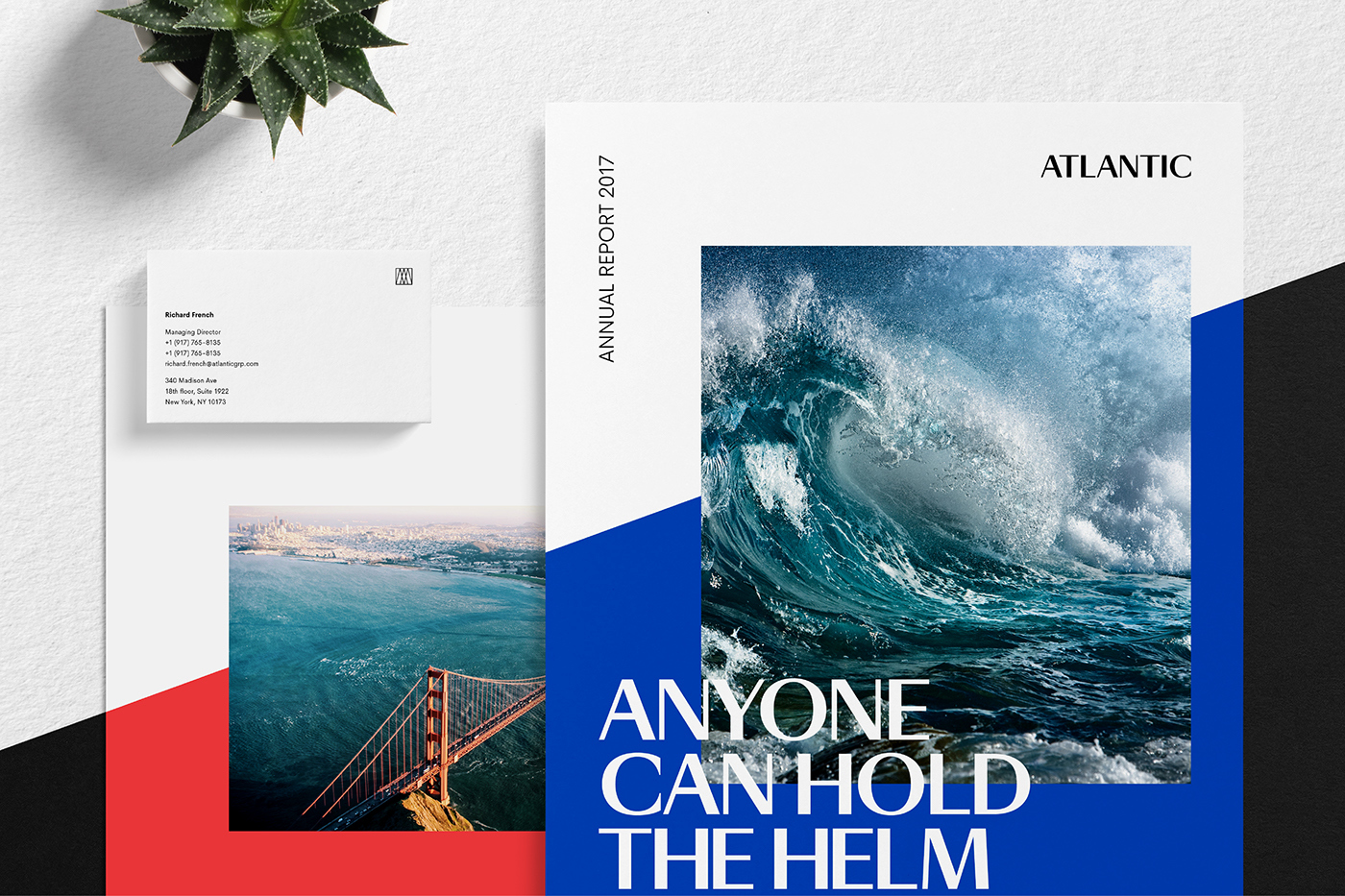Atlantic品牌设计 欣赏-第1张