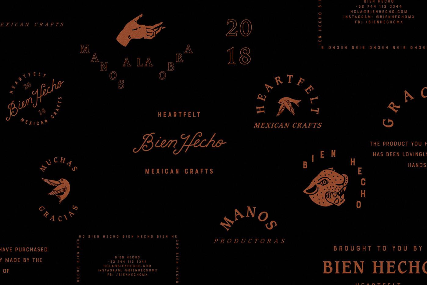 Bien Hecho工艺品品牌形象设计 欣赏-第4张