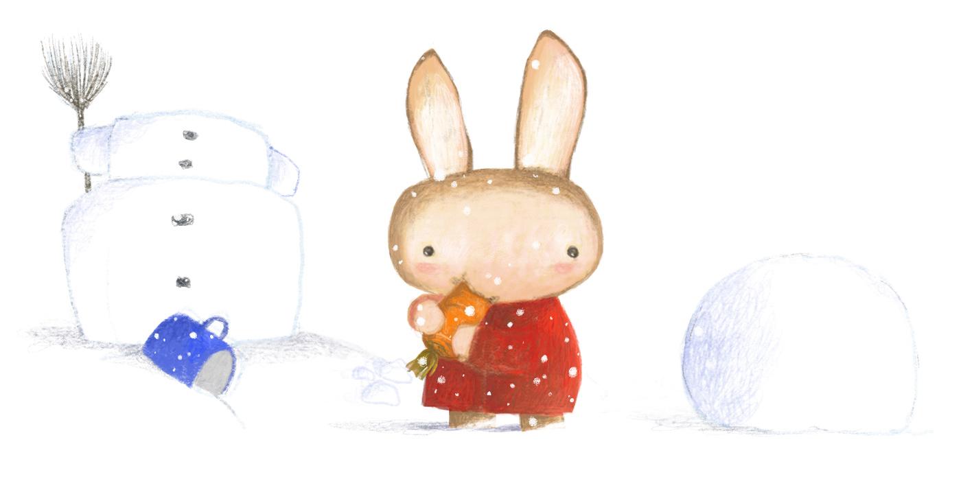 圣诞快乐手绘卡通 欣赏-第9张