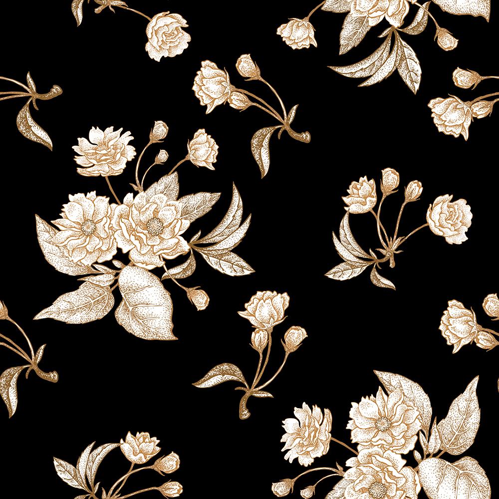 10张中国风工笔高档复古花卉矢量背景 元素-第8张