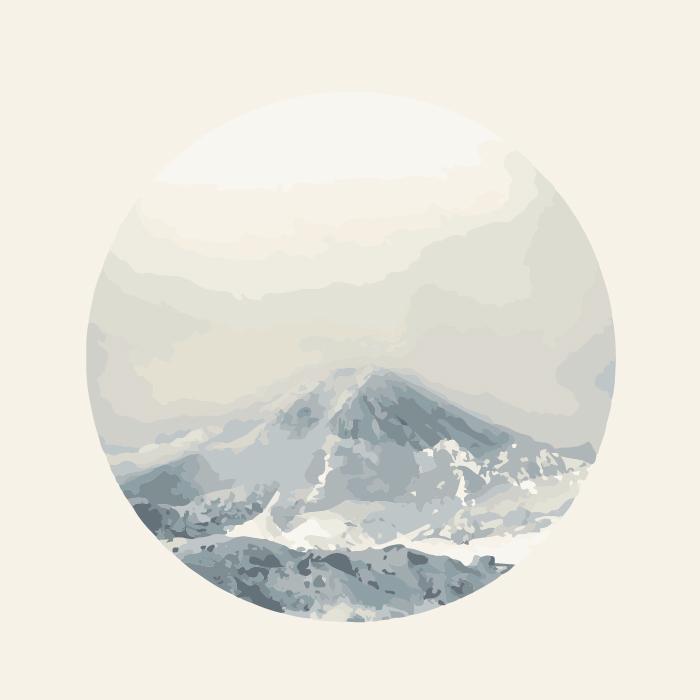 18张手绘中国风水墨圆形AI矢量素材 插画-第14张