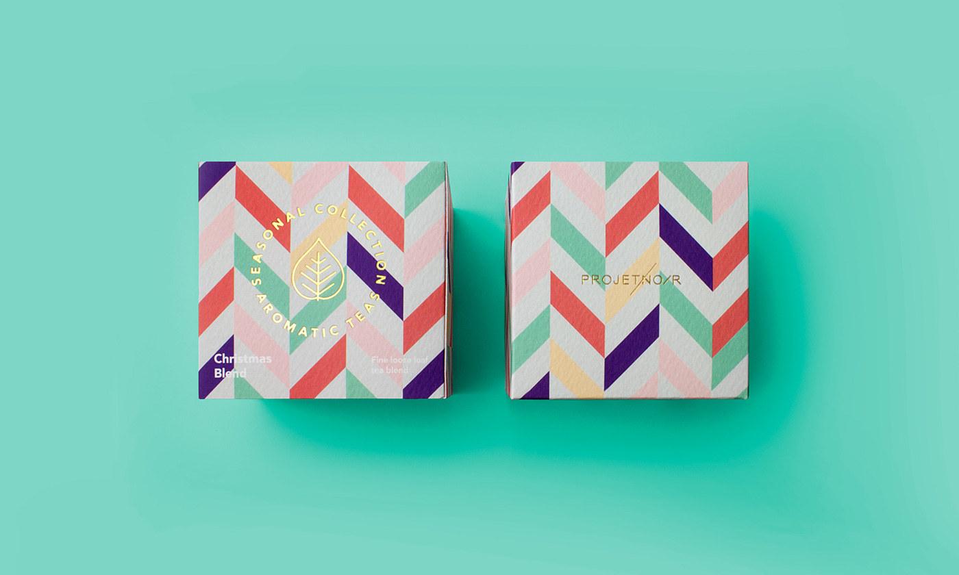 芳香茶包装设计 欣赏-第2张