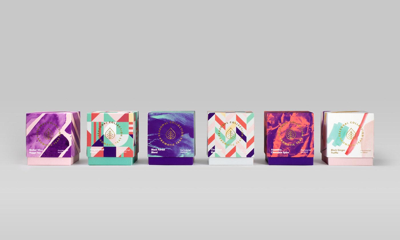 芳香茶包装设计 欣赏-第3张