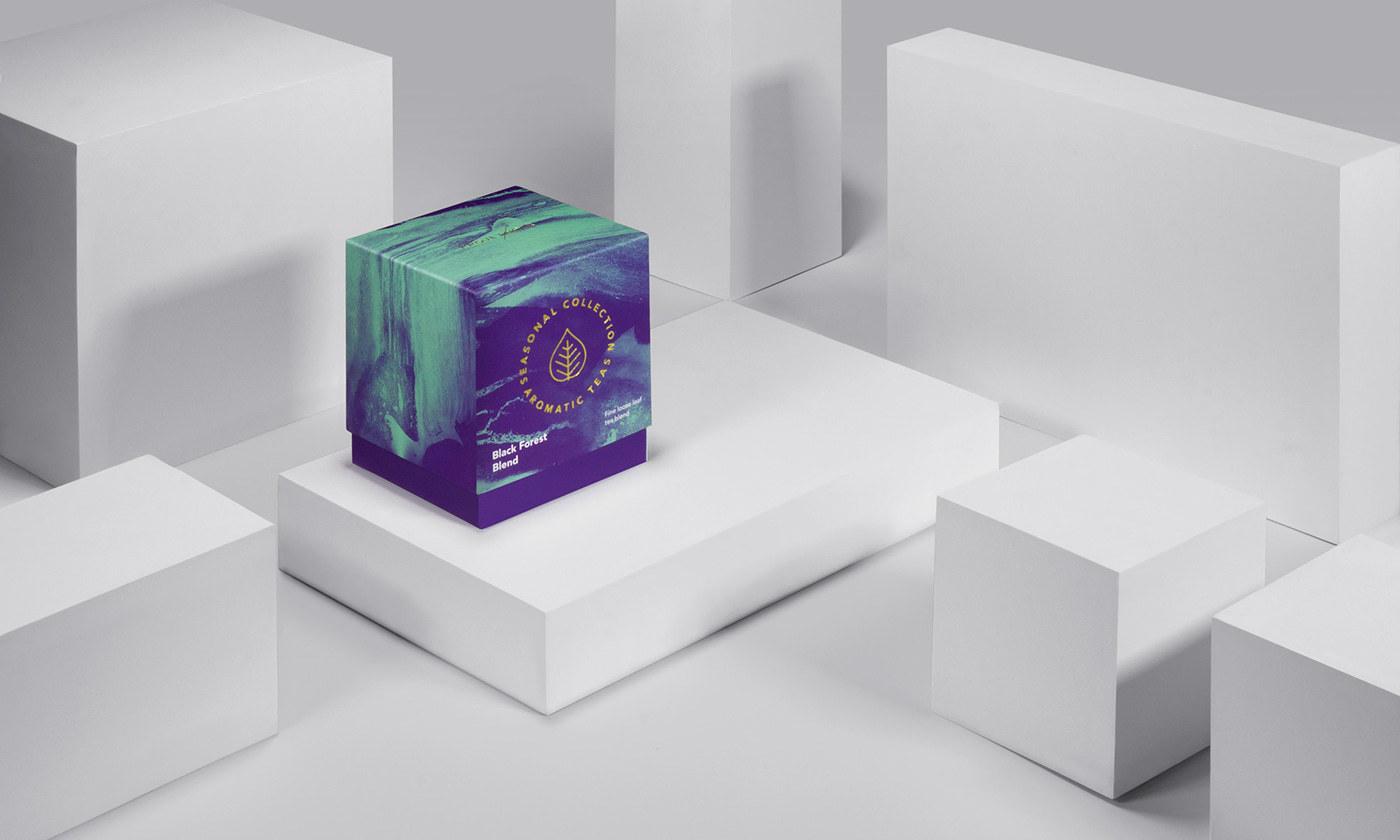 芳香茶包装设计 欣赏-第6张