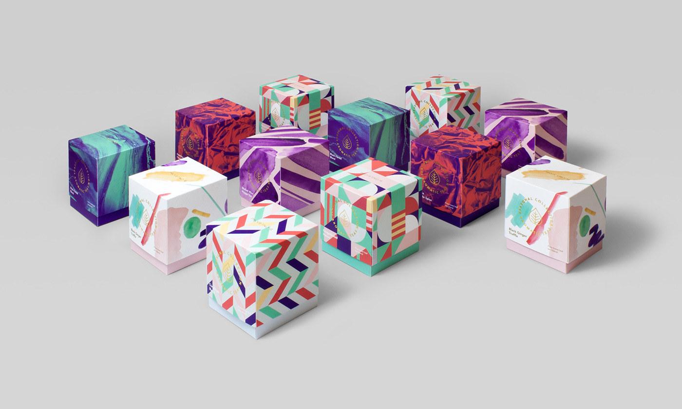 芳香茶包装设计 欣赏-第9张