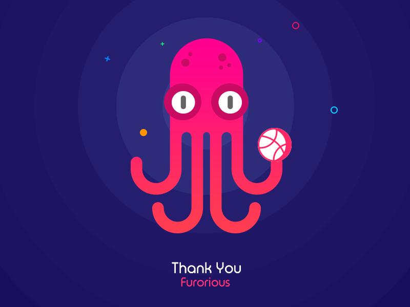 章鱼系列logo 欣赏-第20张