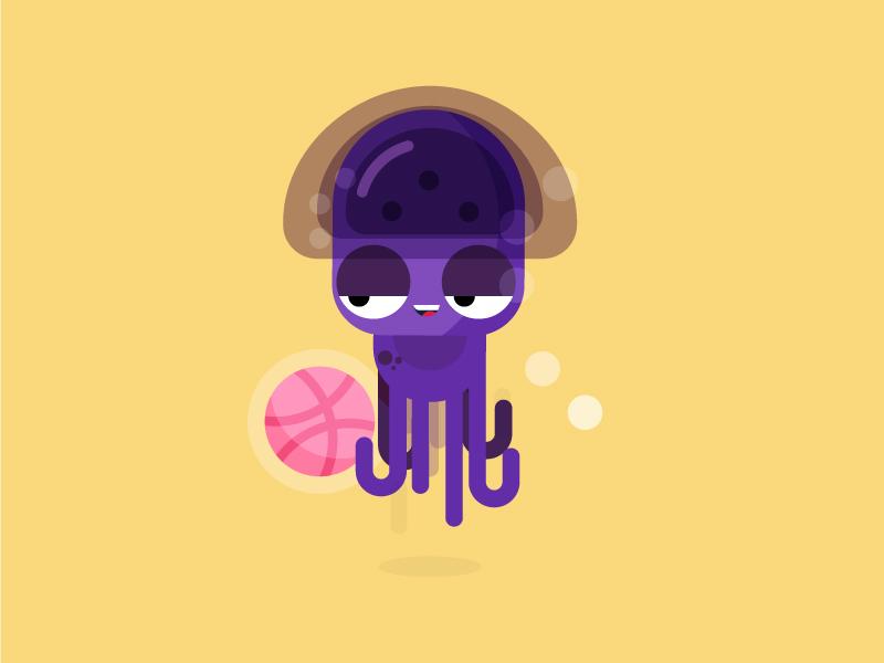 章鱼系列logo 欣赏-第22张