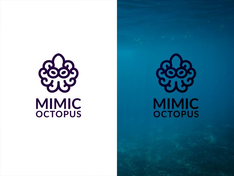 章鱼系列logo 欣赏-第29张