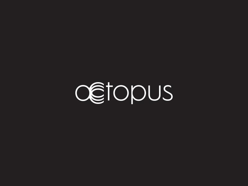 章鱼系列logo 欣赏-第31张