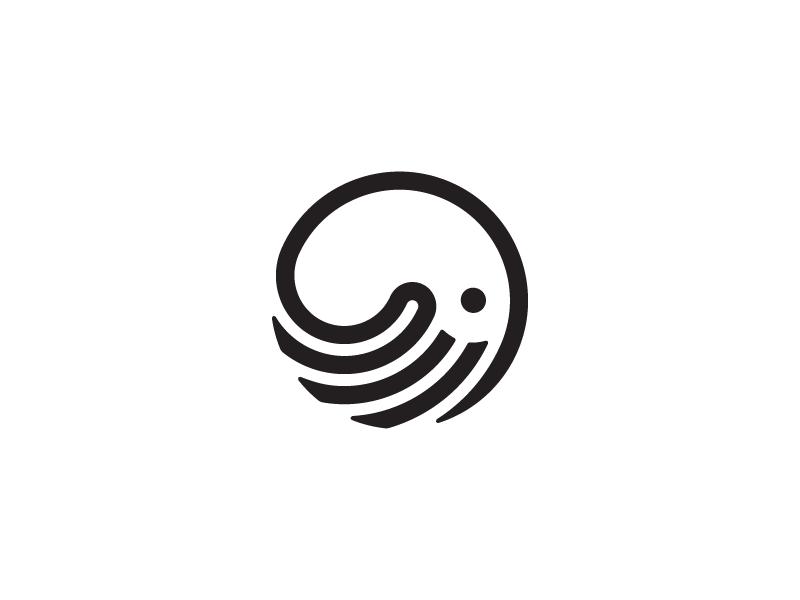 章鱼系列logo 欣赏-第33张