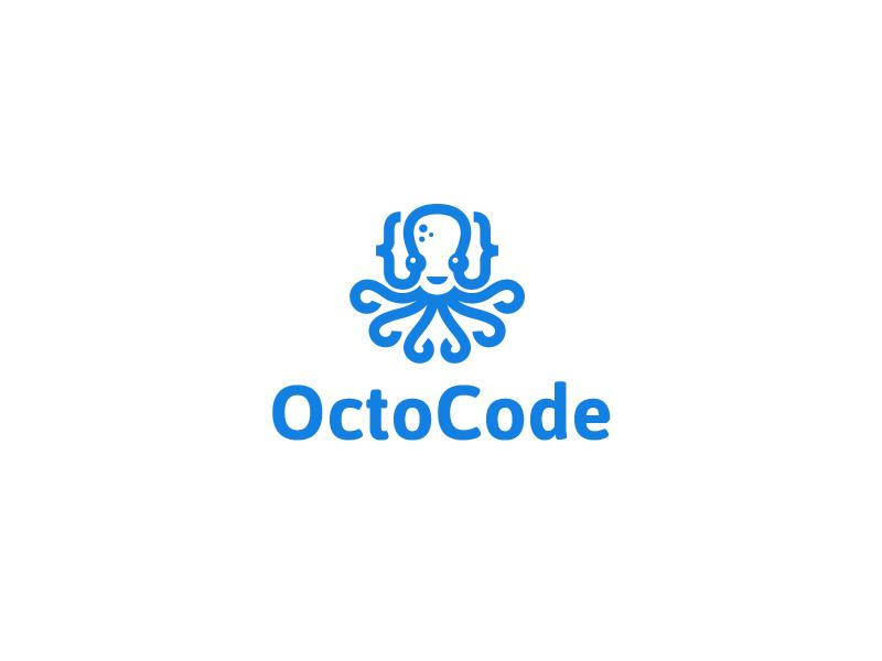 章鱼系列logo 欣赏-第35张