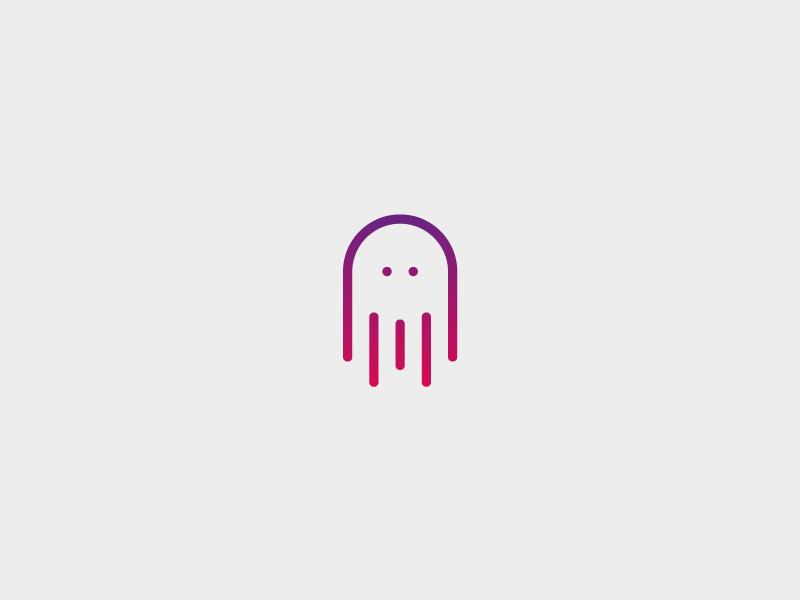 章鱼系列logo 欣赏-第43张