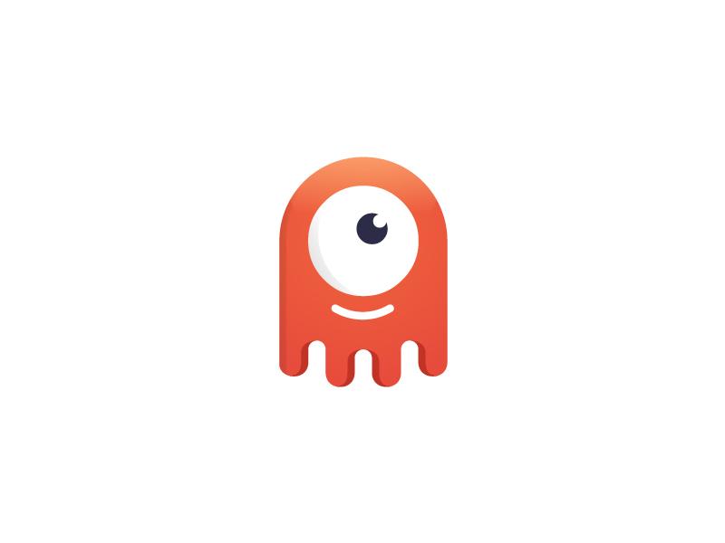 章鱼系列logo 欣赏-第44张