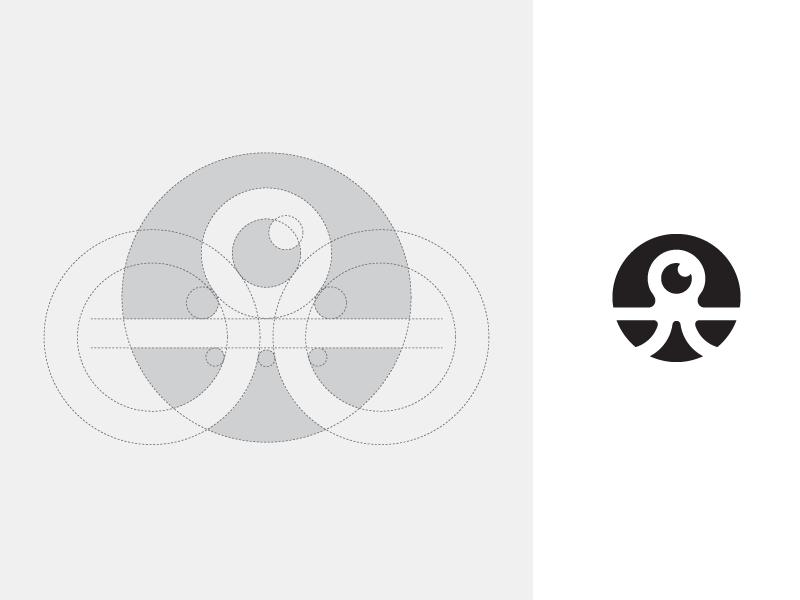 章鱼系列logo 欣赏-第54张