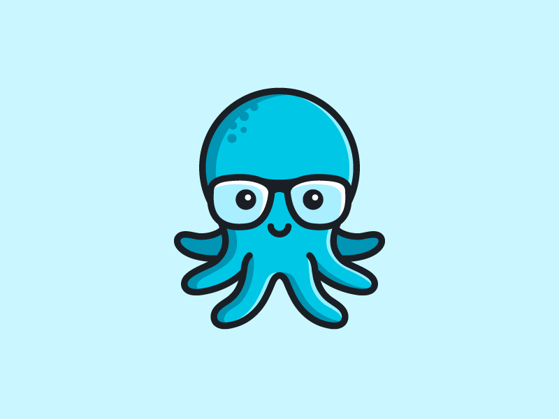 章鱼系列logo 欣赏-第56张
