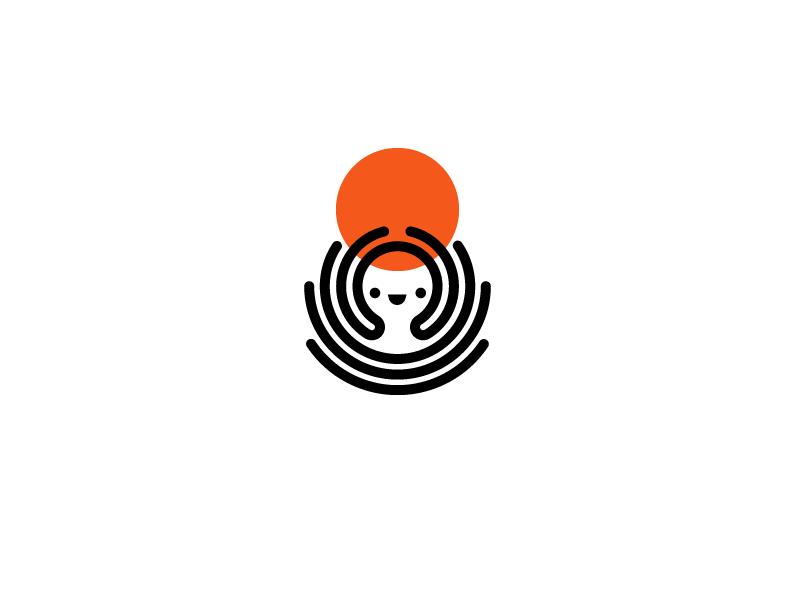 章鱼系列logo 欣赏-第57张