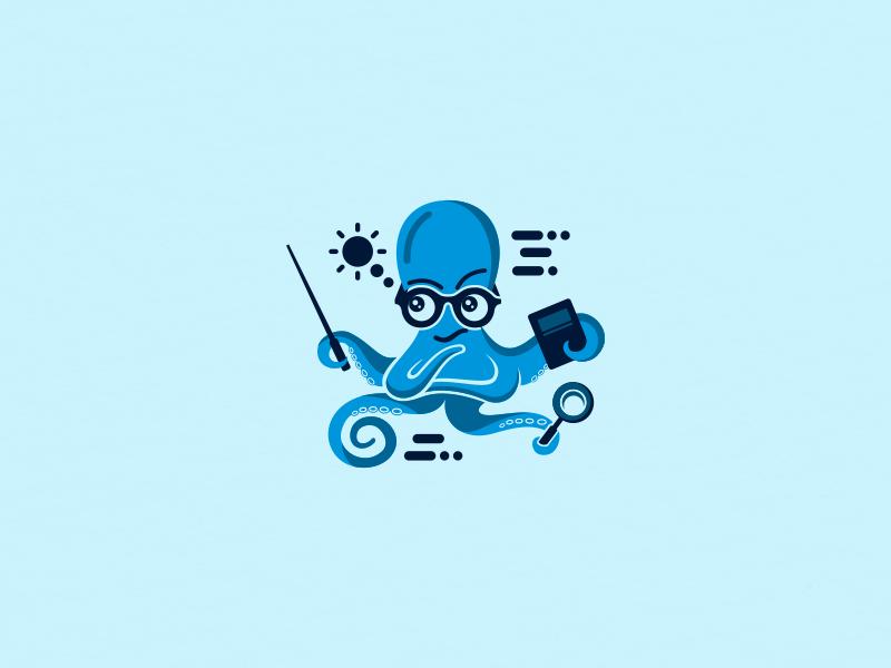 章鱼系列logo 欣赏-第49张
