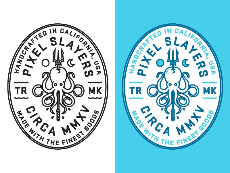 章鱼系列logo 欣赏-第64张
