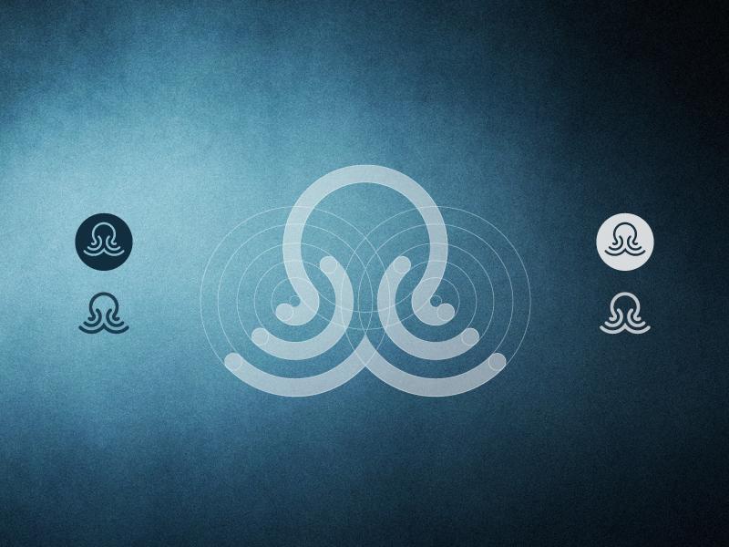 章鱼系列logo 欣赏-第70张