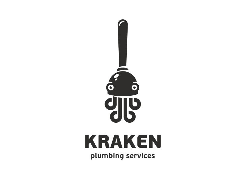 章鱼系列logo 欣赏-第1张