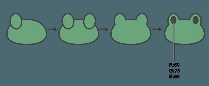 如何在Adobe Illustrator中创建一幅青蛙公主插画 教程-第3张