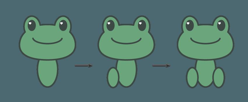如何在Adobe Illustrator中创建一幅青蛙公主插画 教程-第7张