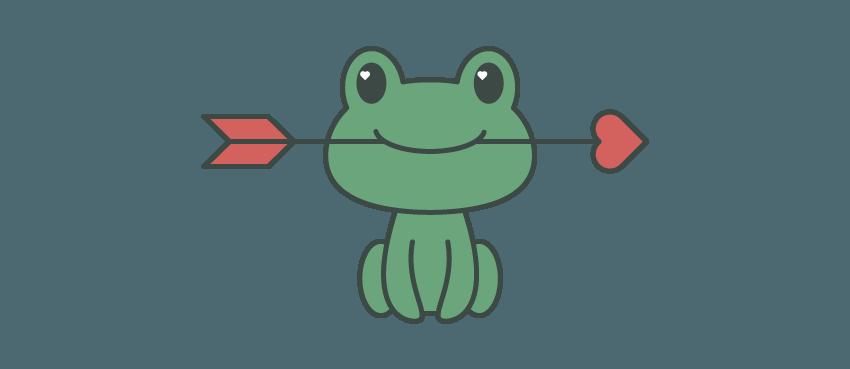 如何在Adobe Illustrator中创建一幅青蛙公主插画 教程-第10张
