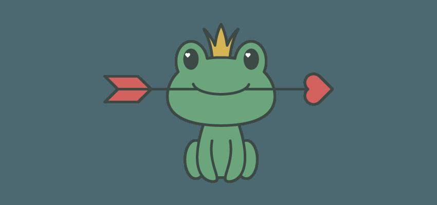 如何在Adobe Illustrator中创建一幅青蛙公主插画 教程-第12张