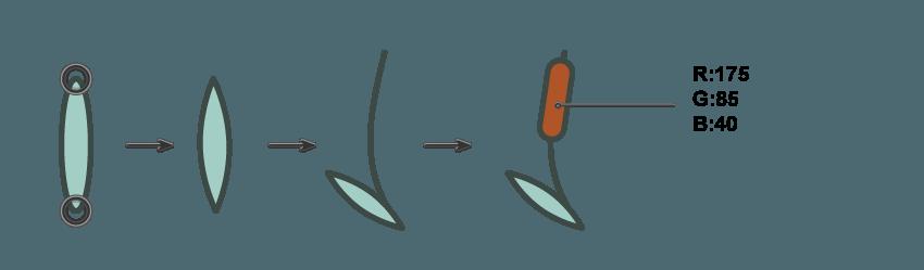 如何在Adobe Illustrator中创建一幅青蛙公主插画 教程-第14张