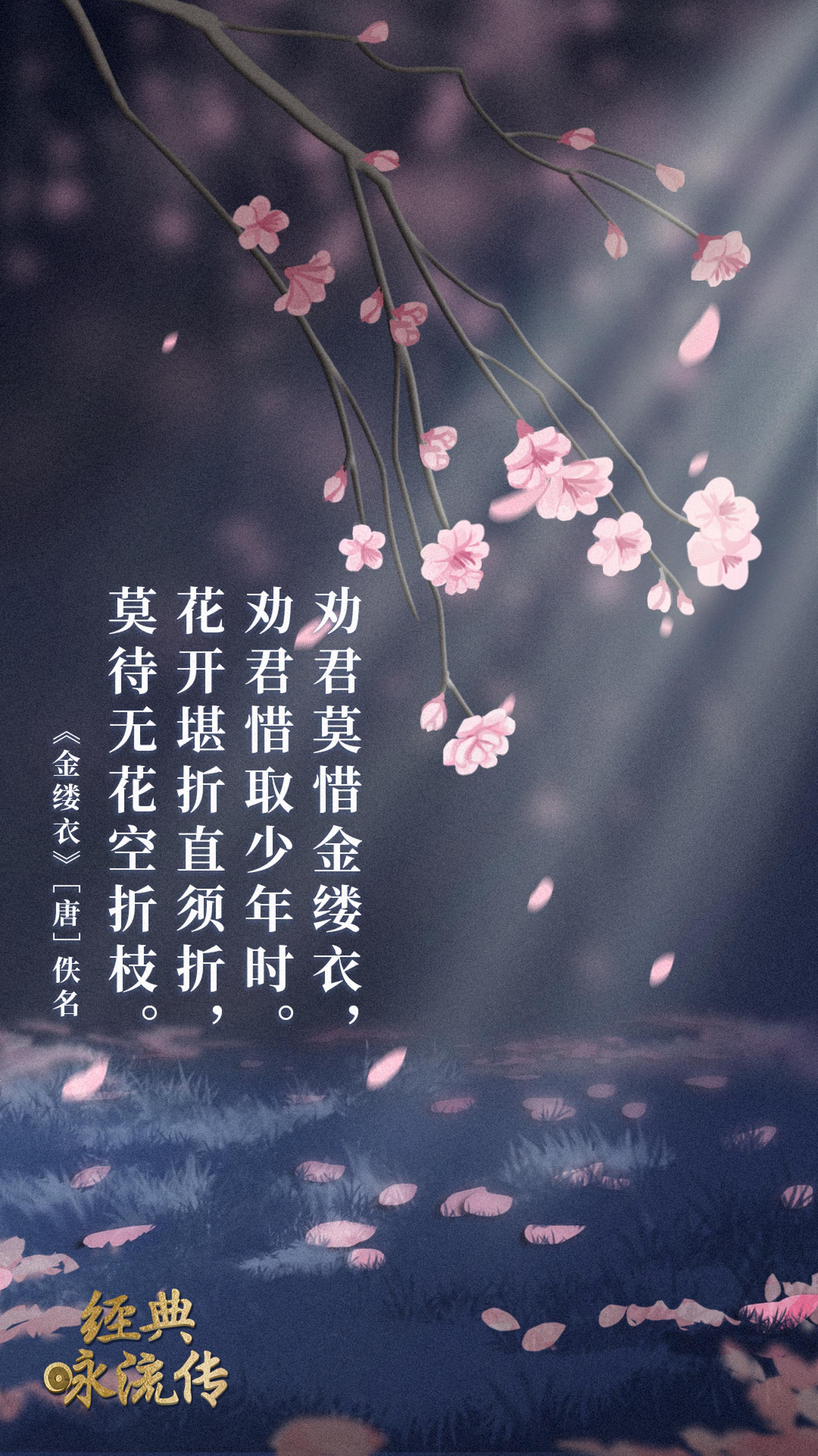 《经典咏流传》诗词意境海报合集 欣赏-第11张