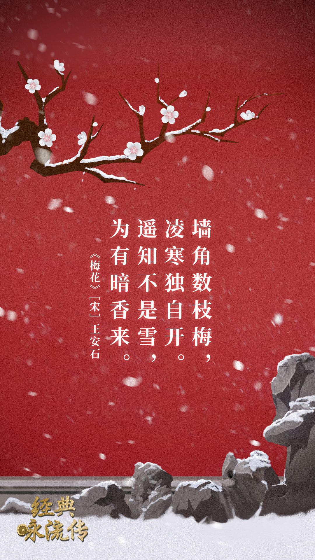 《经典咏流传》诗词意境海报合集 欣赏-第33张