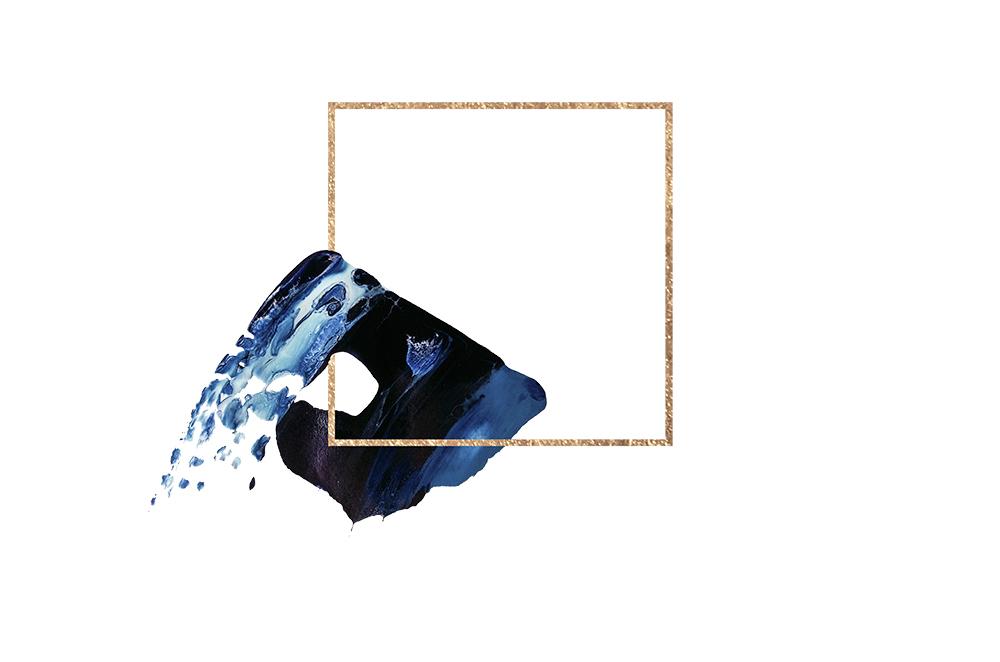 高清新中式创意水墨元素banner素材PNG+PSD 元素-第1张