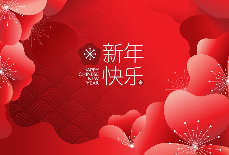 2019猪年新年春节创意矢量素材 元素-第6张