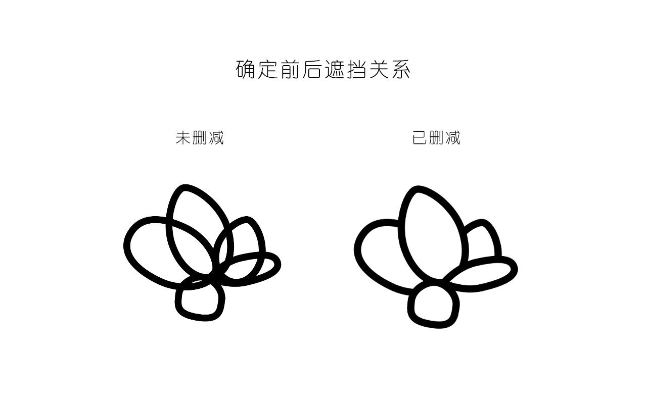 绘制一枚多肉植物扁平风线体插画 教程-第3张