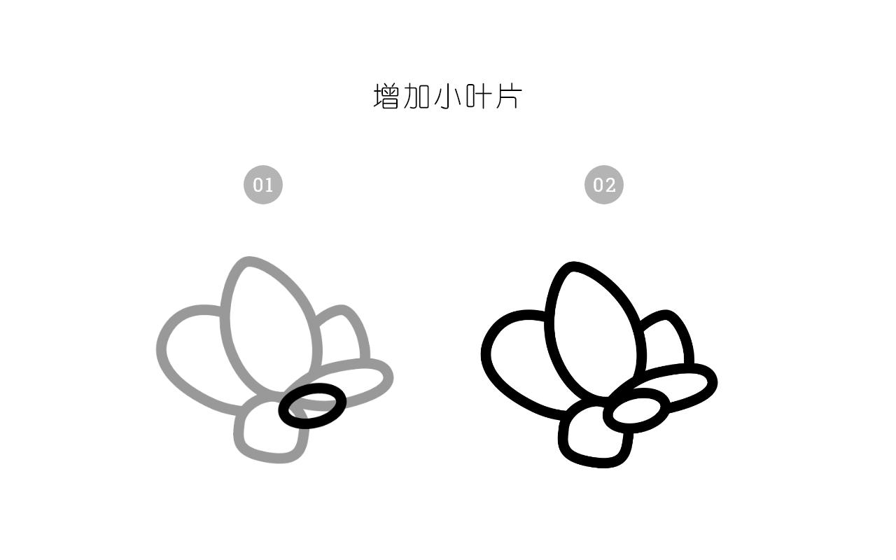 绘制一枚多肉植物扁平风线体插画 教程-第4张