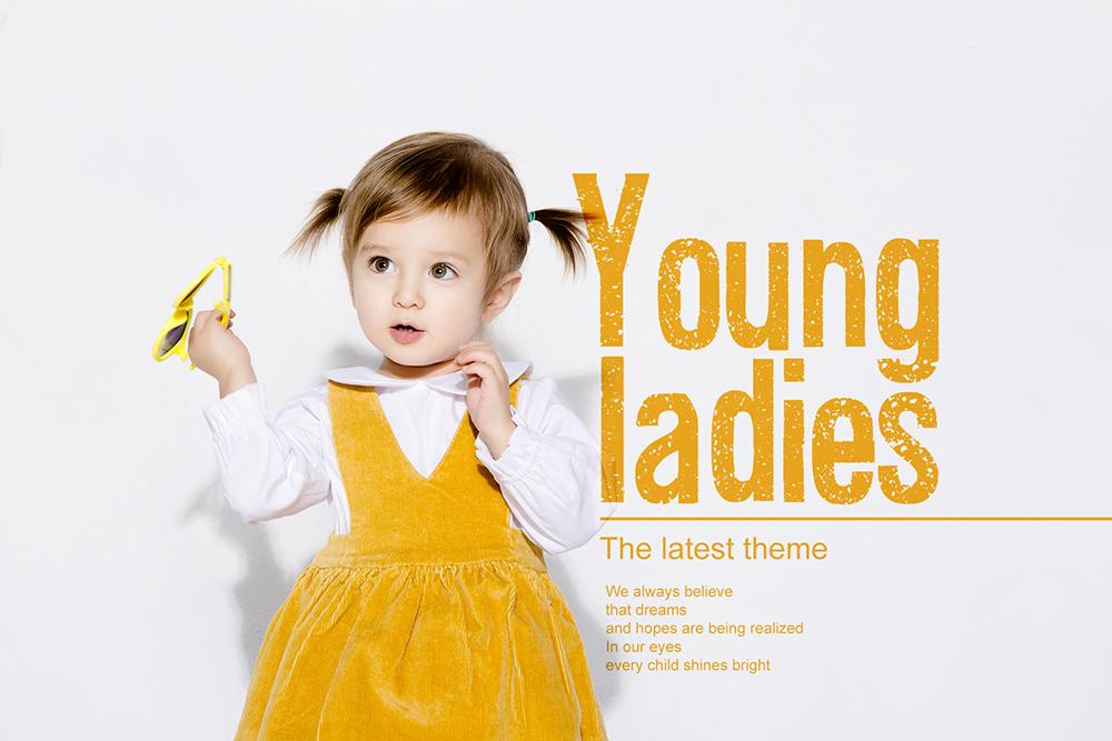儿童摄影海报相册PSD素材 模板-第6张