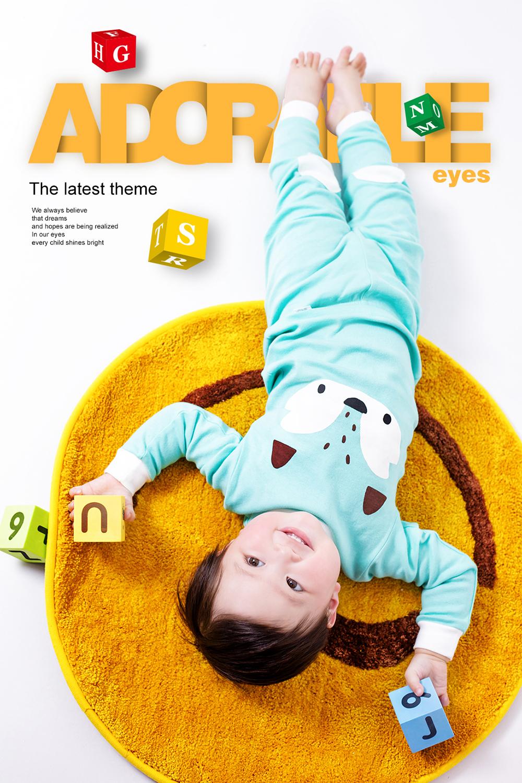儿童摄影海报相册PSD素材 模板-第8张